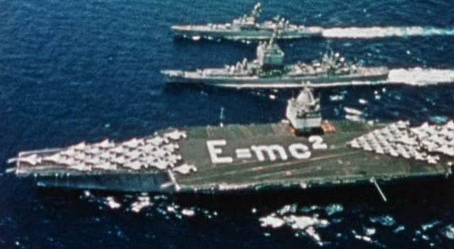 E=mc2 on Aircraft Carrier