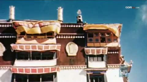 Dalai Lama's viewing room in the Potala Palace