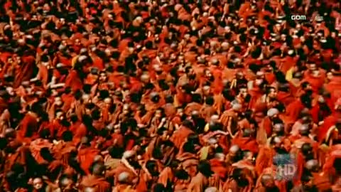Large Gathering of Monks