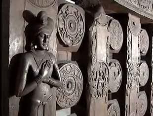 Bharhut Fence and Statue