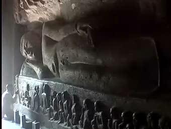 Parinibbana at Ajanta