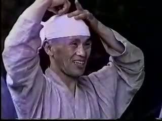Harada Roshi doing Qi Gong