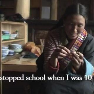 A Tibetan Woman's Life