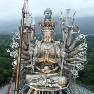 Thousand Hands Guanshiyin Bodhisattva Construction