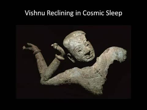 Reclining Vishnu