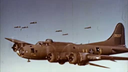 Bomber Planes over Germany