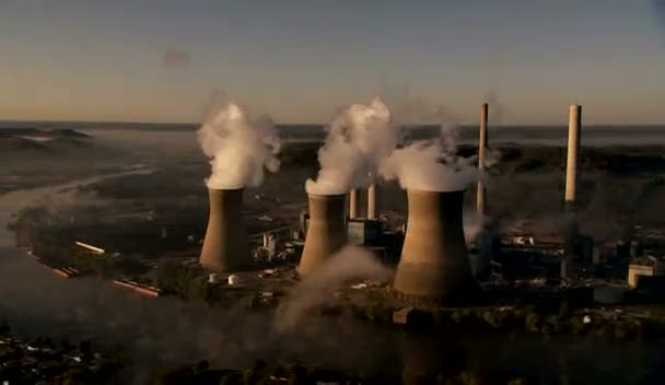 Power Stations spewing out Pollution