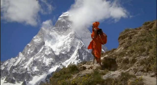 Sadhu in the Himalayas