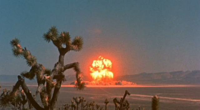Atomic Explosion in Nevada
