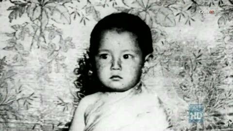 Dalai Lama, Age 3