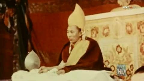 Dalai Lama Holding Audience
