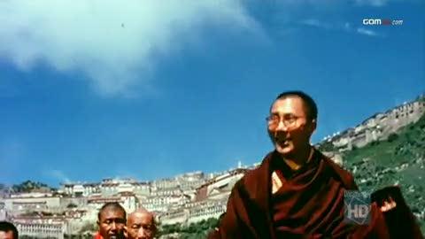 Dalai Lama in Lhasa