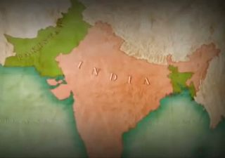 Map of Indian Partition